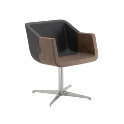 Rok & Roll 1680 PO b13g | Visitors chairs / Side chairs | Cizeta