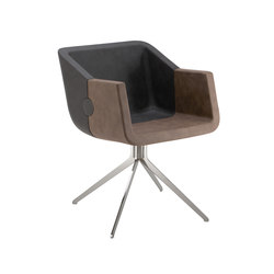 Rok & Roll 1680 PO b14g | Visitors chairs / Side chairs | Cizeta | L'Abbate