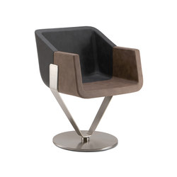 Rok & Roll 1680 PO b16g | Visitors chairs / Side chairs | Cizeta | L'Abbate