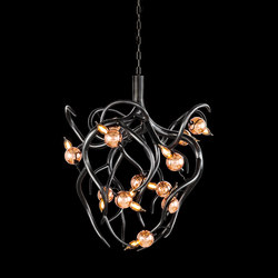 Eve chandelier conical | Ceiling suspended chandeliers | Brand van Egmond