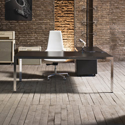 Frame+ Executive | Individual desks | Sinetica Industries