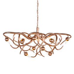 Eve chandelier oval | Ceiling suspended chandeliers | Brand van Egmond