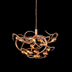 Eve chandelier round | Ceiling suspended chandeliers | Brand van Egmond