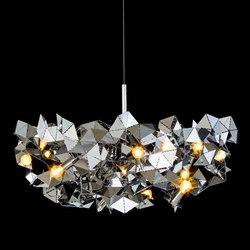 Fractal | Ceiling suspended chandeliers | Brand van Egmond