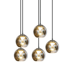 Kubric So - Cluster of 5 | Suspended lights | Contardi Lighting