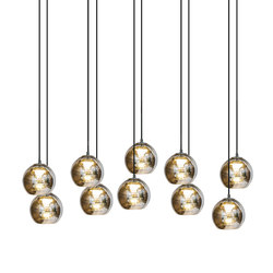 Kubric So - Cluster of 10 | Suspended lights | Contardi Lighting