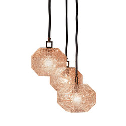 Treasure So Deluxe - Cluster of 3 | Suspended lights | Contardi Lighting