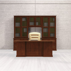 Barrington Desk | Bureaux de direction | National Office Furniture
