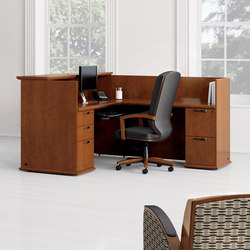 Captivate Desk | Counters | National Office Furniture