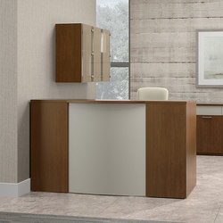 Casbah Desk | Banques d'accueil | National Office Furniture