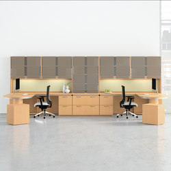 Casbah Desk | Desking systems | National Office Furniture