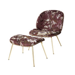 Beetle Lounge Chair and Stool | Armchairs | GUBI