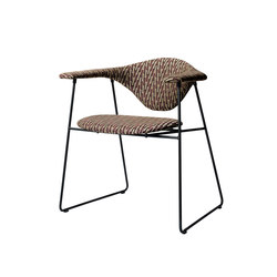 Masculo Sledge Chair | Restaurant chairs | GUBI