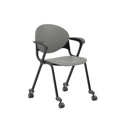 Cinch Guest Stacking Chair Mobile | Multipurpose chairs | National Office Furniture