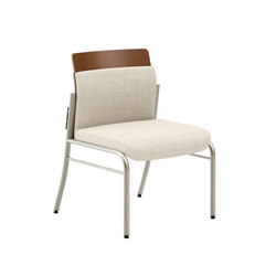 Confide Guest Chair Armless | Sillas de visita | National Office Furniture