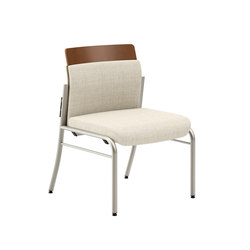 Confide Guest Starter Chair Armless | Visitors chairs / Side chairs | National Office Furniture