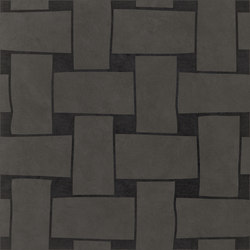 Tangle | Across Grey | Ceramic tiles | Ornamenta