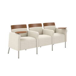 Confide Three Seat Tandem Lounge | Canapés d'attente | National Office Furniture
