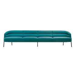 Odeon Dining Sofa | Divani lounge | Wittmann