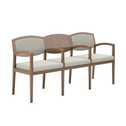 Eloquence Three Seat Tandem Guest | Chaises d'attente | National Office Furniture