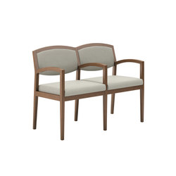 Eloquence Two Seat Tandem Guest | Sillas de espera | National Office Furniture