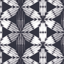 Shibori Series - Shibori Flower - Medium | Tessuti per pareti | Designtex