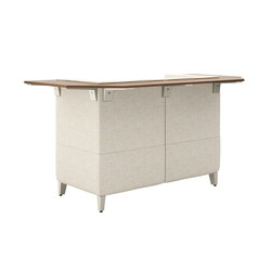 Fringe Mid Back Bistro Table, Two Seat Cove | Brainstorming / Short meetings | National Office Furniture