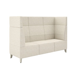 Fringe High Back Three Seat Cove | Lounge-Arbeits-Sitzmöbel | National Office Furniture