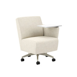 Fringe Club Chair with Tablet | Sillones lounge | National Office Furniture