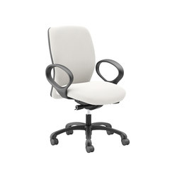 Fuel Intensive Use Static Loop Arms | Arbeitsdrehstühle | National Office Furniture