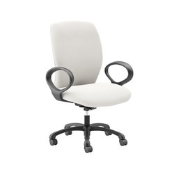 Fuel Large and Tall Static Loop Arms | Arbeitsdrehstühle | National Office Furniture