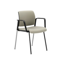 Lavoro Guest Chair with Upholstered Back & Seat | Sièges visiteurs / d'appoint | National Office Furniture