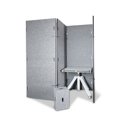 Acoustic shield wall | Space dividing systems | Westermann