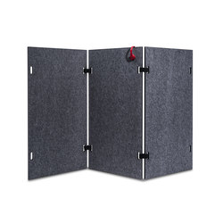 Acoustic shield wall | Pannelli divisori | Westermann