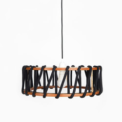 Macaron Pendant Lamp, black | Lampade sospensione | EMKO