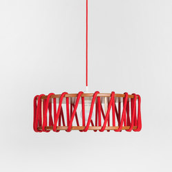 Macaron Pendant Lamp, red | Lampade sospensione | EMKO
