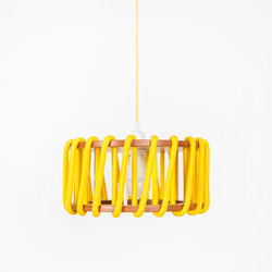 Macaron Pendant Lamp, yellow | Suspended lights | EMKO