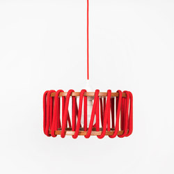 Macaron Pendant Lamp, red | Suspended lights | EMKO
