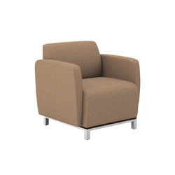 Swift One Seat Lounge Static | Lounge chairs | National Office Furniture