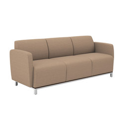 Swift Three Seat Lounge | Divani lounge | National Office Furniture