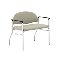 Tag Bariatric Arc Back Upholstered Back/Wall Saver Legs | Sillas multiusos | National Office Furniture