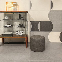 Texture | vintage decor & grey | Ceramic panels | Casamood by Florim