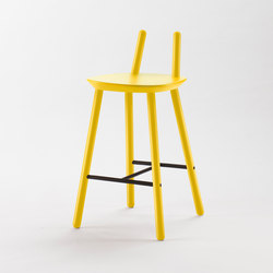 Naïve Semi Bar Chair, yellow | Bar stools | EMKO