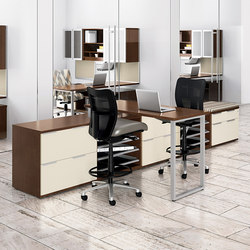 WaveWorks Desk | Bureaux debout | National Office Furniture