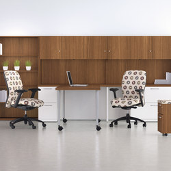 WaveWorks Desk | Puestos de trabajo móviles | National Office Furniture