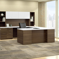 WaveWorks Desk | Bureaux de direction | National Office Furniture