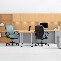 WaveWorks Desk | Postes de travail mobiles | National Office Furniture