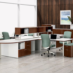 WaveWorks Desk | Desking systems | National Office Furniture