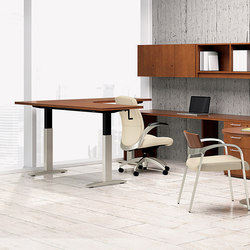 WaveWorks Desk | Scrivanie individuali | National Office Furniture