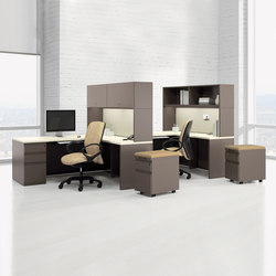WaveWorks Desk | Bureaux individuels | National Office Furniture